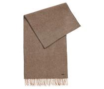 Melierter Schal aus reiner Wolle