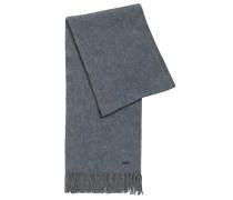 Dezent strukturierter Schal aus Schurwolle