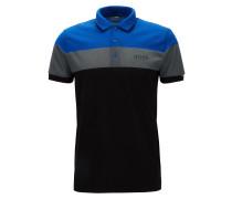 Regular-Fit Poloshirt aus Baumwoll-Mix