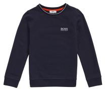 Kids-Sweatshirt aus Baumwolle mit Logo-Stickerei