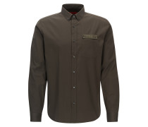 Relaxed-Fit Hemd aus Baumwoll-Popeline