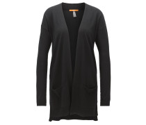 Langer Relaxed-Fit Cardigan aus Schurwolle