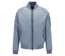 Regular-Fit MA-1 Bomberjacke aus Material-Mix