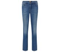 Slim-Fit Jeans aus Stretch-Denim mit Kontrast-Streifen