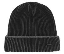 Mütze mit Flechtmuster aus Schurwolle