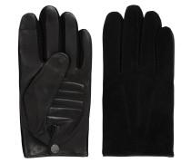 Touchscreen-Handschuhe aus Nappaleder mit Innenfutter aus Kaschmir