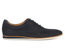 Casual-Schuhe aus Nubukleder im Oxford-Stil