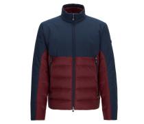 Regular-Fit Jacke aus wasserabweisendem Material-Mix mit Füllung aus Premium-Daunen