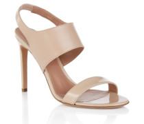 BOSS Luxury Staple Sandalen aus edlem italienischem Leder