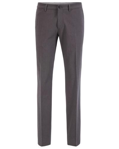 Extra Slim-Fit Hose aus melierter Stretch-Baumwolle
