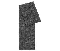 Mouliné-Schal aus geripptem Baumwoll-Mix mit Schurwolle