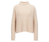 Pullover aus Baumwoll-Mix mit Alpaka- und Schurwoll-Anteil