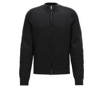 Regular-Fit-Jacke aus Schurwolle