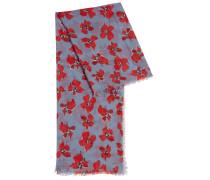 Schal aus leichtem Modal mit Blumenprint
