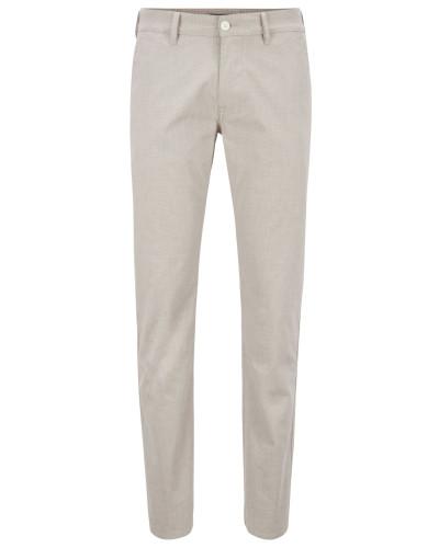 Slim-Fit Hose aus fein strukturierter Stretch-Baumwolle