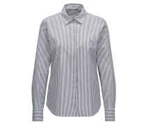 Regular-Fit Nadelstreifen-Hemd aus Stretch-Baumwolle