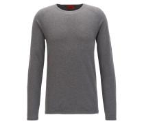 Slim-Fit Pullover aus Baumwoll-Mix