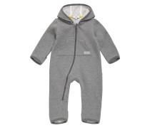 Baby-Overall aus Baumwoll-Mix mit Kapuze