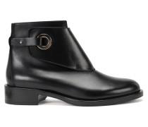 Chelsea Boots aus Leder mit Ringverschluss
