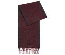 Schal aus Woll-Mix mit Kaschmir und Fischgrät-Struktur