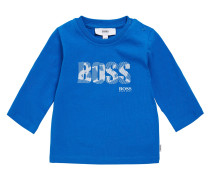 Kids-Langarmshirt aus Baumwolle mit Print