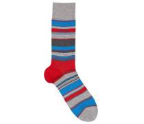 Gestreifte Socken aus merzerisiertem Baumwoll-Mix