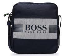 Reporter Bag aus Material-Mix im Logo-Look
