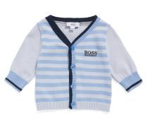 Baby-Strickjacke aus Baumwolle im Streifen-Dessin: 'J95221'