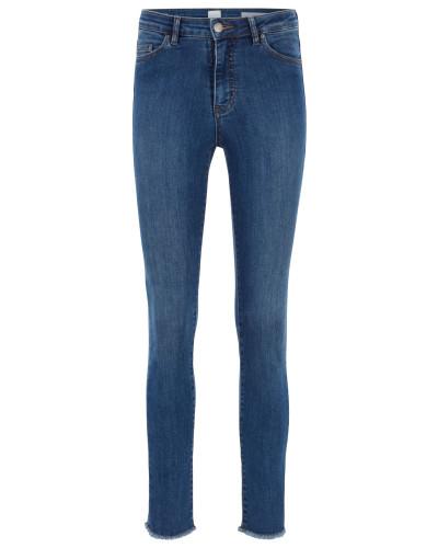 Skinny-Fit Jeans aus Powerstretch-Denim in Cropped-Länge