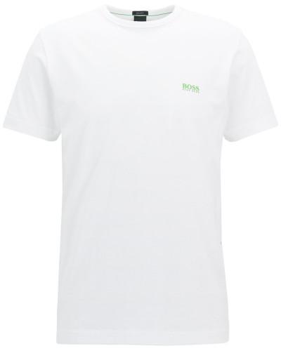 T-Shirt mit Kontrast-Detail