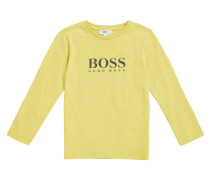 Kids Regular-Fit Longsleeve aus Baumwolle