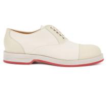 Oxford-Schuhe aus Glattleder