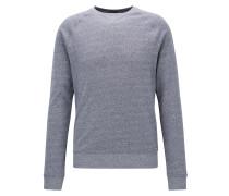 Sweatshirt aus weicher Mouliné-Baumwolle
