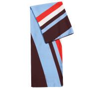 Schal aus reiner Seide mit geometrischem Print