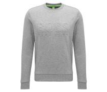 Slim-Fit Sweatshirt aus Baumwoll-Mix