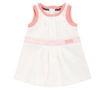 Baby-Kleid aus Baumwolle mit Falten-Details