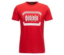 Regular-Fit T-Shirt aus Baumwolle mit Logo
