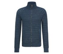 Regular-Fit Sweatshirt aus French Terry mit Reißverschluss