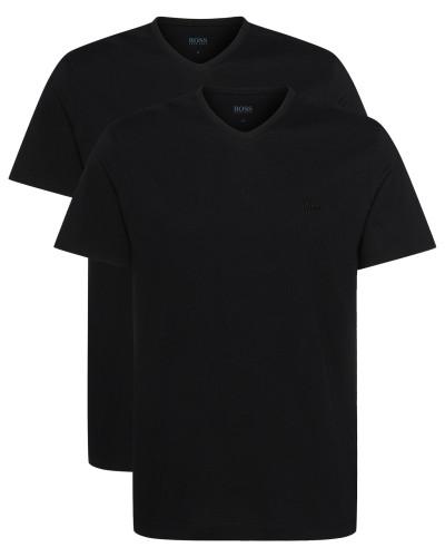 T-Shirts aus Baumwolle im Zweier-Pack