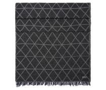Gemusterter Schal aus Baumwolle