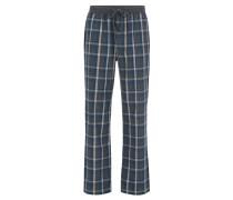 Pyjamahose aus karierter Baumwolle