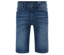 Regular-Fit Shorts aus Stretch-Denim