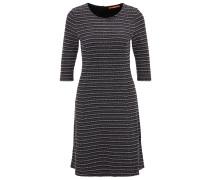 Kleid in A-Linie aus Bouclé-Jersey