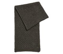 Strickschal aus Material-Mix mit Alpakawolle und Wolle