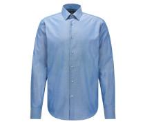 Regular-Fit Hemd aus Royal Oxford-Baumwolle