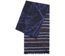 Jacquard-Schal mit verschiedenen Mustern