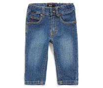 Baby-Jeans aus Stretch-Baumwolle im Five Pocket-Stil