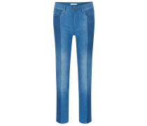 Relaxed-Fit Jeans aus edlem italienischem Stretch-Denim