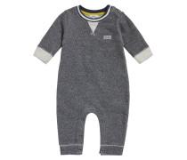 Baby-Strampler aus Baumwolle mit Webstruktur