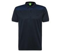 Regular-Fit Poloshirt aus Baumwolle mit Kontrast-Besatz